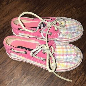 Girls Spwrey Topsiders Loafers